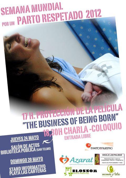Semana mundial por un parto respetado 2012